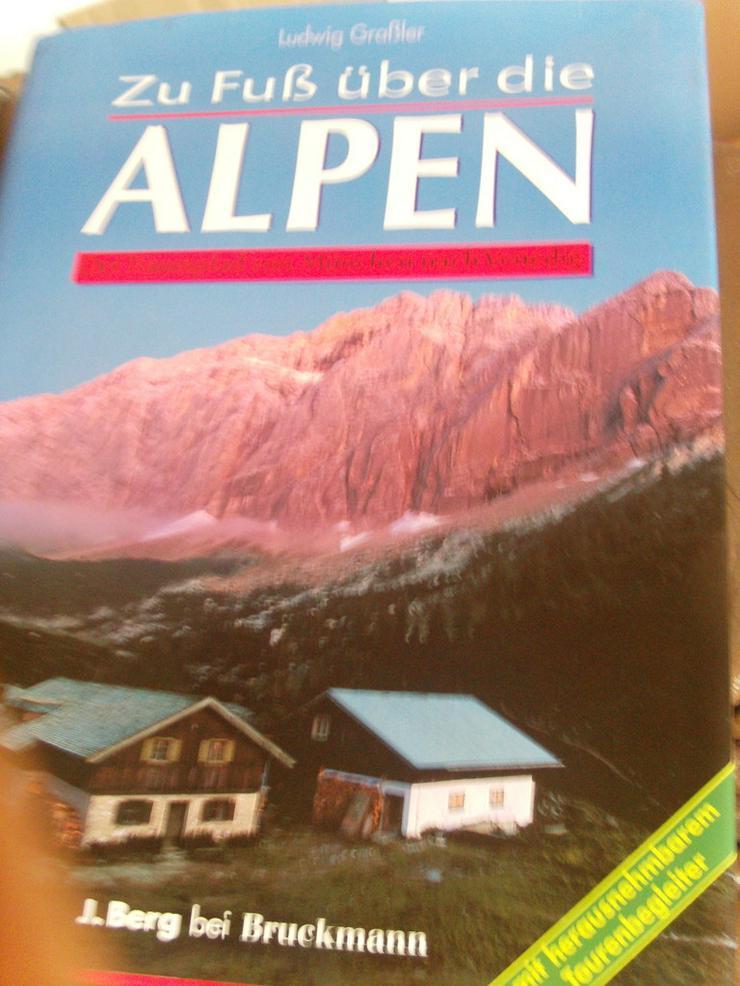 Zu Fuß über die Alpen - Reiseführer & Geographie - Bild 1