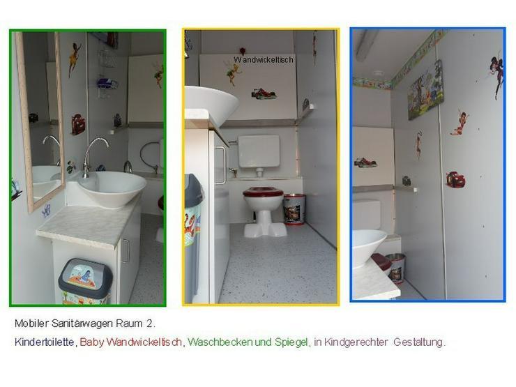 Bild 5: Toilettenwagen mit Behinderten WC  + Kinder WC