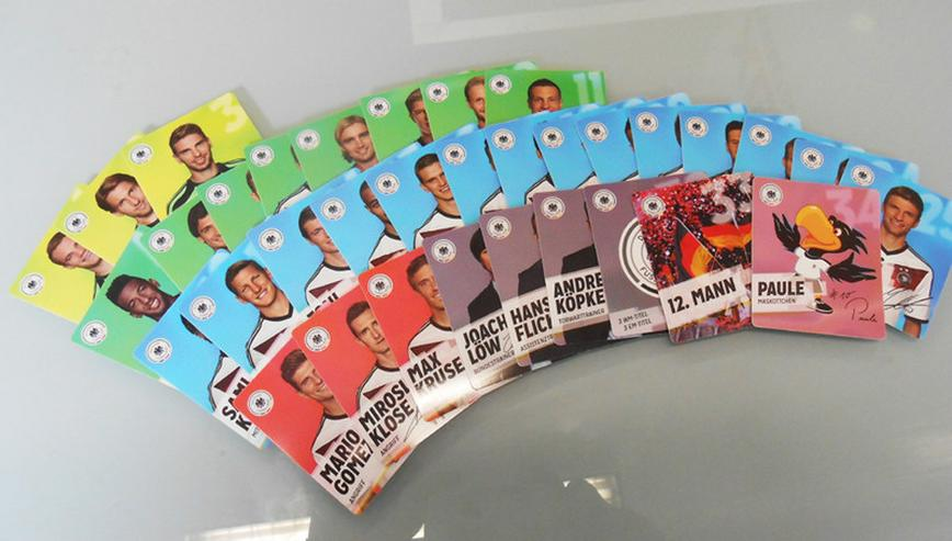 Rewe DFB Team 2014 Komplettsatz, 36 karten
