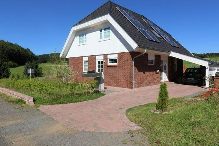 Hillesheim Bolsdorf Energieeffizienzhaus 5 Zimmer Terrasse Garten Weitblick in naturnahem ... - Haus kaufen - Bild 1