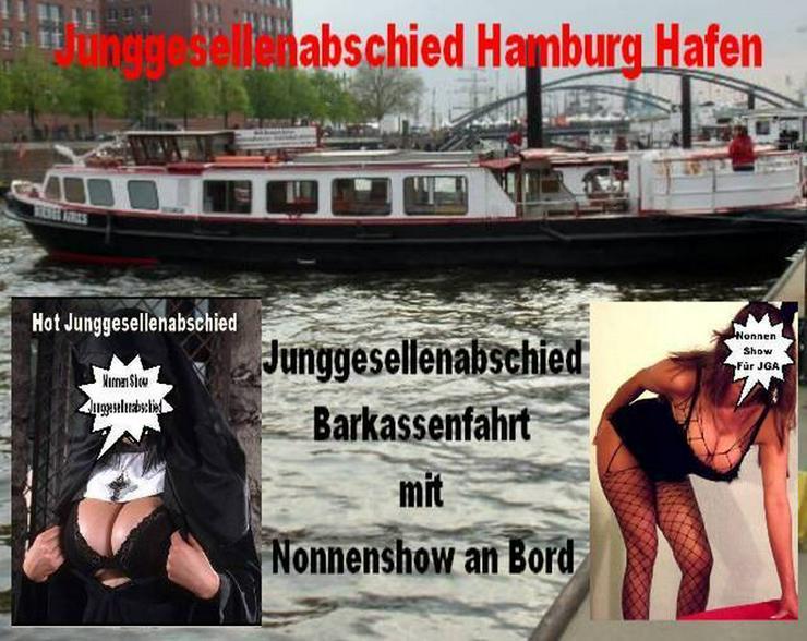 Partyschiff Hamburg mit Stripperin