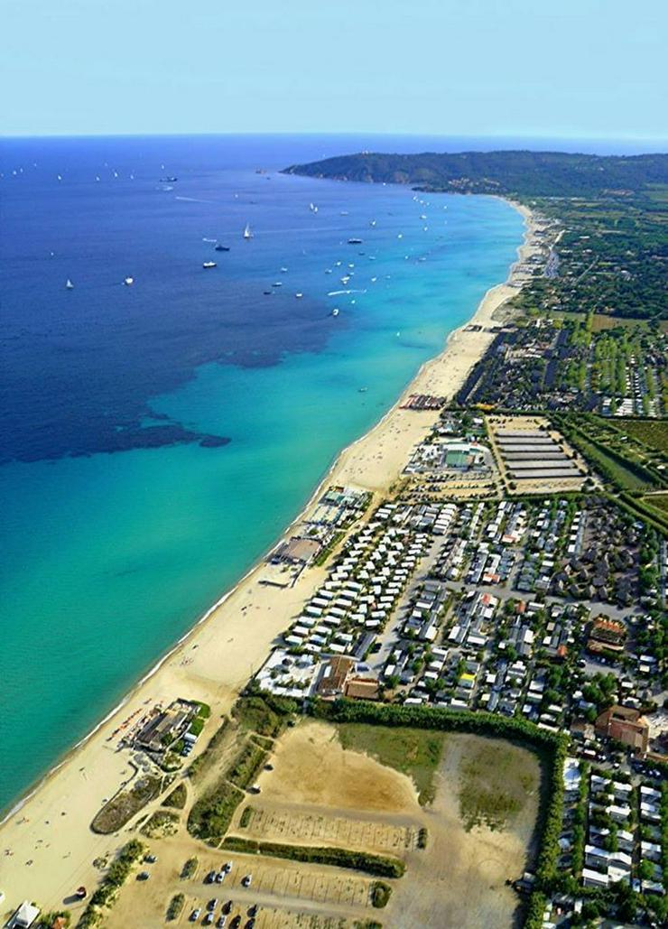 Frankreich Mobilheims am Meer