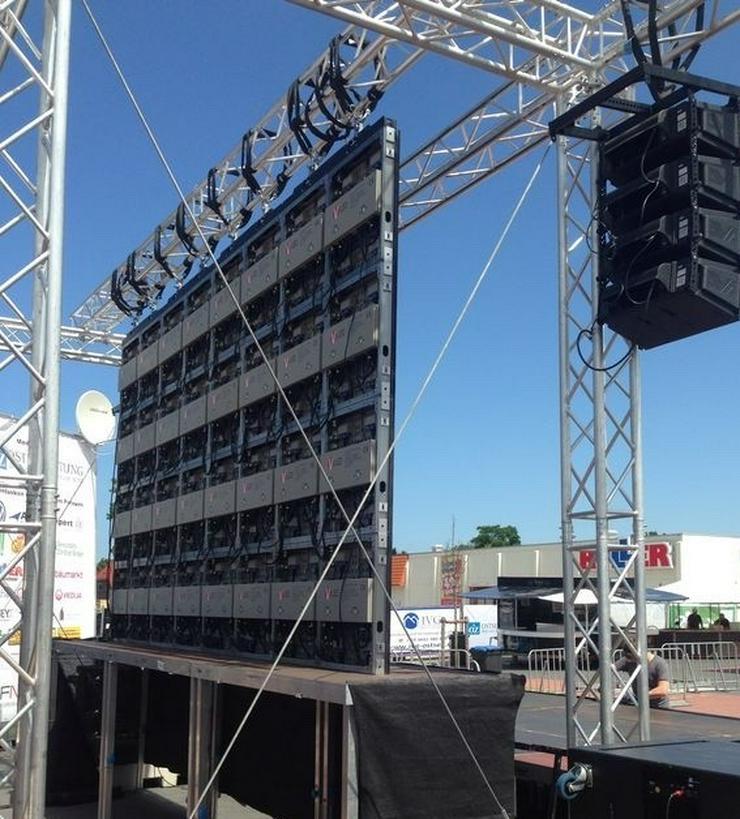 Bühnen, Traversen -  Bühnentechnik mieten - Party, Events & Messen - Bild 1