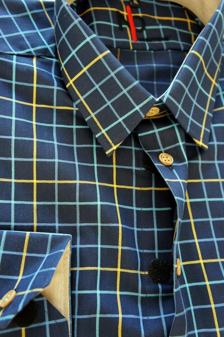 Bild 2: Herrenhemden mit Klettverschluss.Einfach offnen