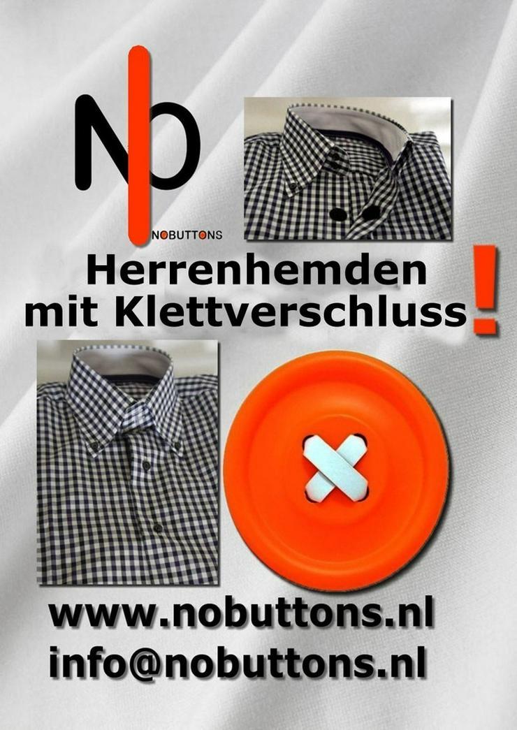 Bild 3: Herrenhemden mit Klettverschluss.Einfach offnen
