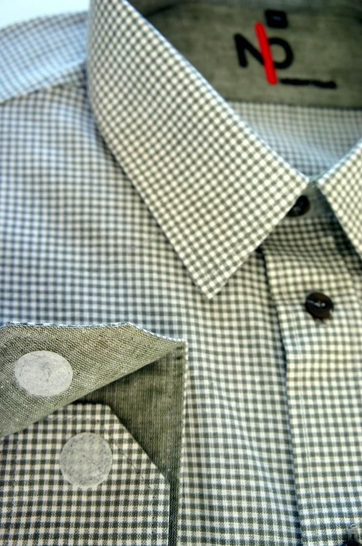 Bild 4: Herrenhemden mit Klettverschluss.Einfach offnen