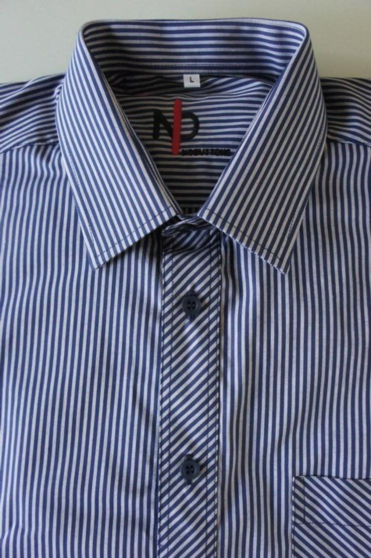 Bild 5: Herrenhemden mit Klettverschluss.Einfach offnen