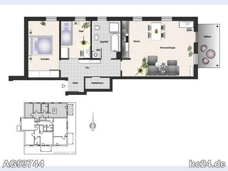 Bild 6: ****ERSTBEZUG!!! Neu möblierte Wohnung im Neubau mit Aussicht in Blaubeuren