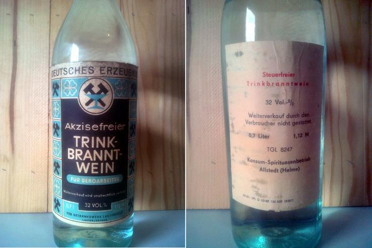 Original Schachtschnaps Kumpeltod DDR