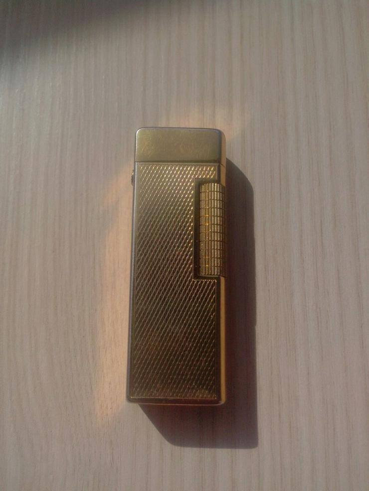Goldfeuerzeug Rubicon Dux 70er Dunhill Stil