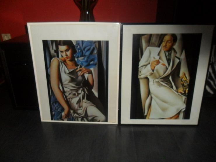 2 moderne Dekobilder - Poster, Drucke & Fotos - Bild 1
