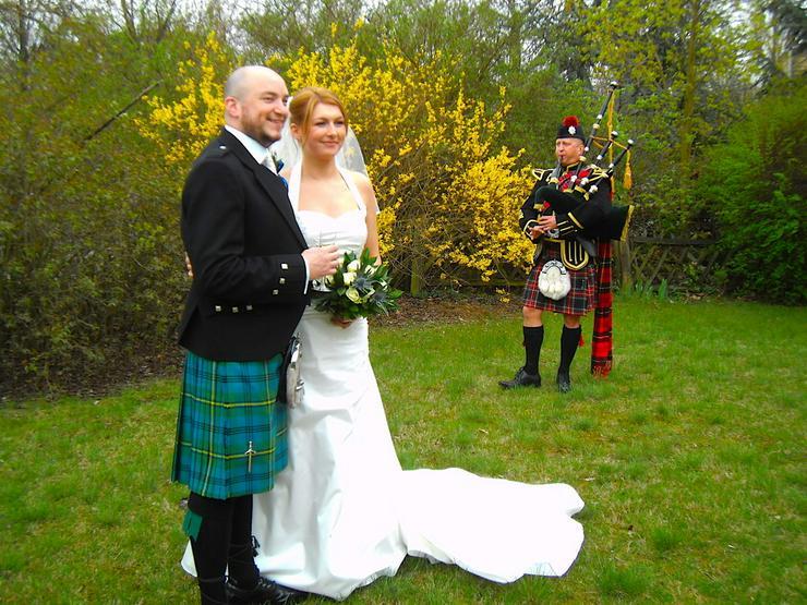 Bild 2: Wedding Piper - Hamburg - Dudelsackspieler