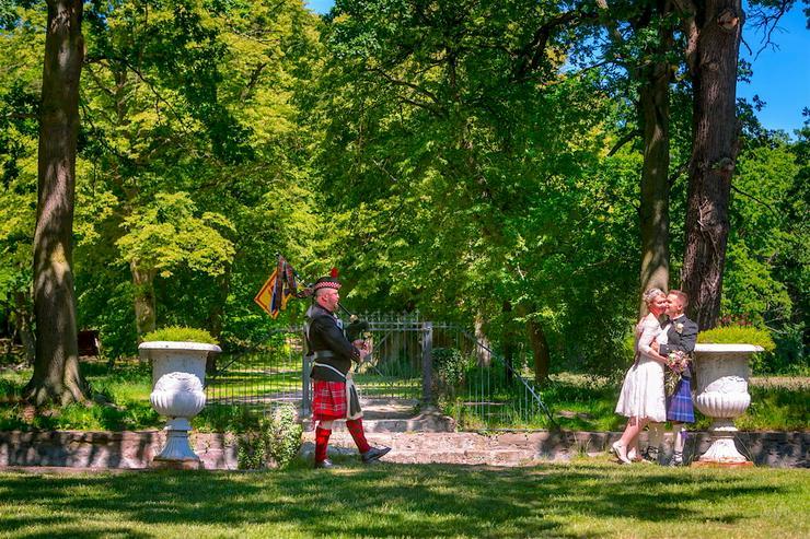 Bild 4: Wedding Piper - Hamburg - Dudelsackspieler