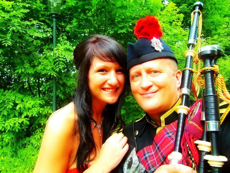 Bild 6: Wedding Piper - Hamburg - Dudelsackspieler