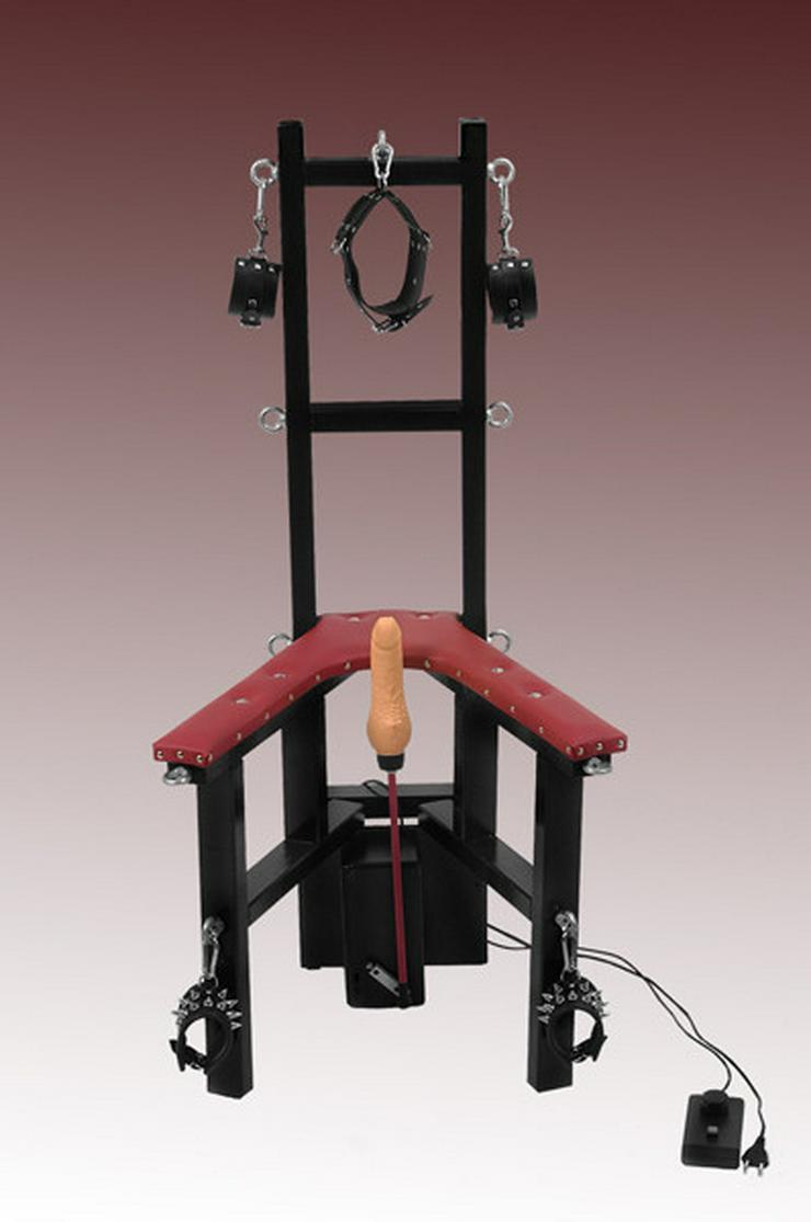 Sklavenstuhl, Spreizsitz, Handarbeit