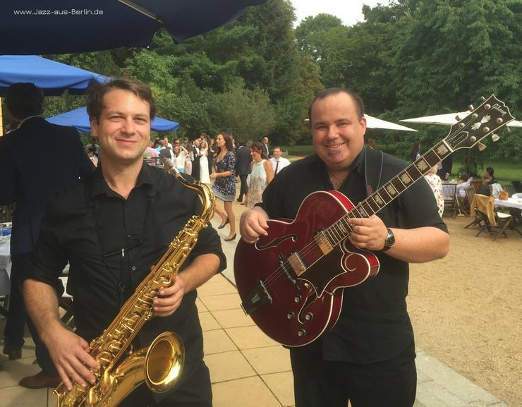 Bild 4: Saxophon & Gitarre Livemusik JazzDuo
