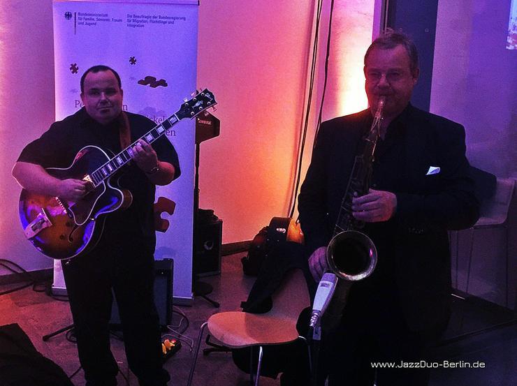 Saxophon & Gitarre Livemusik JazzDuo