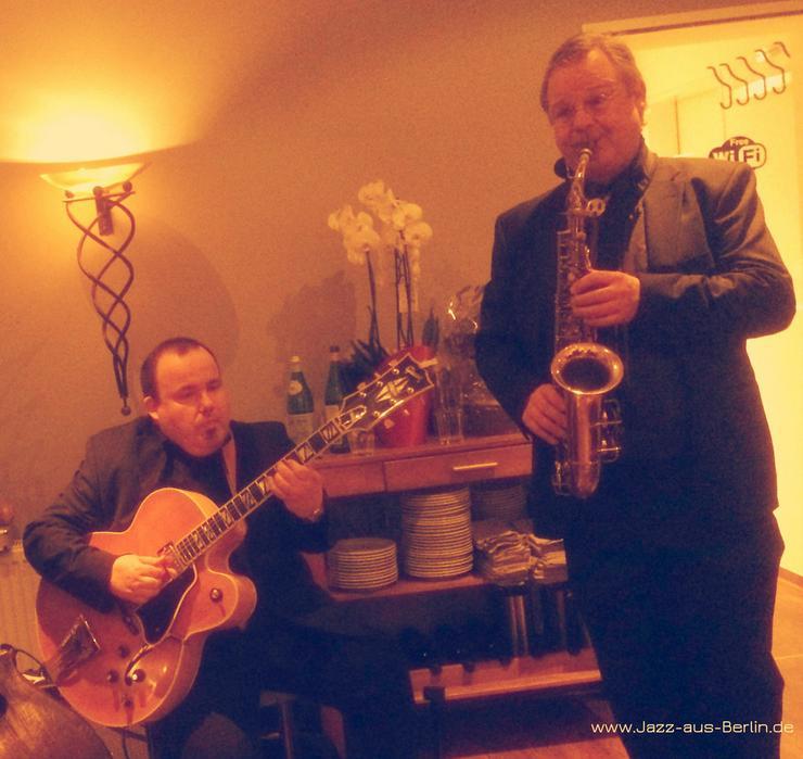 Bild 3: Saxophon & Gitarre Livemusik JazzDuo