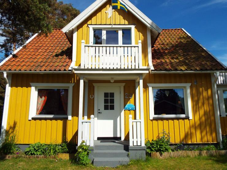 170 qm STRANDVILLA nur 600m v 13km-Sandstrand - Ferienhaus Schweden - Bild 1