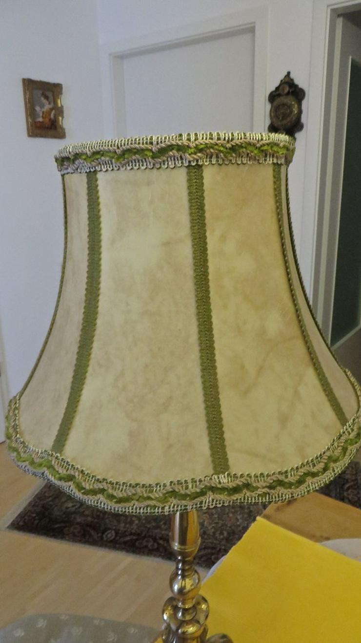 Bild 2: Messing Stehlampe
