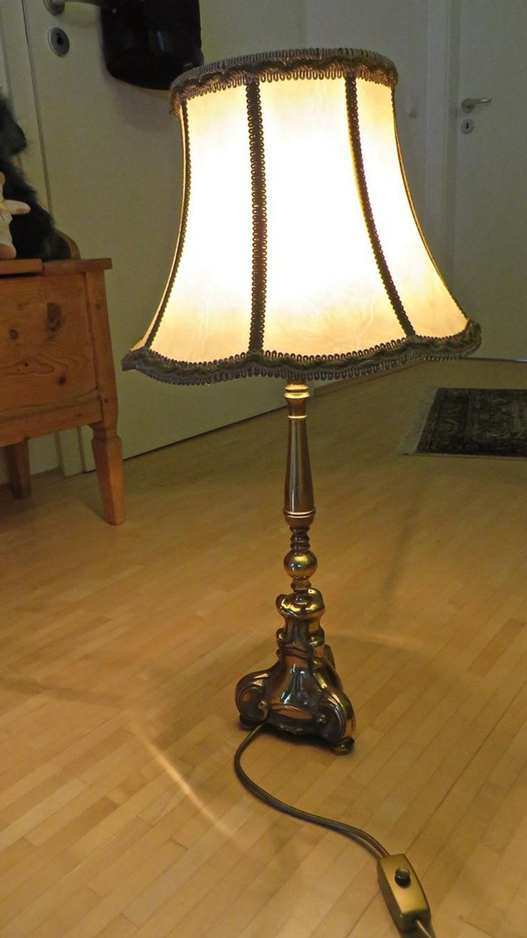 Bild 4: Messing Stehlampe