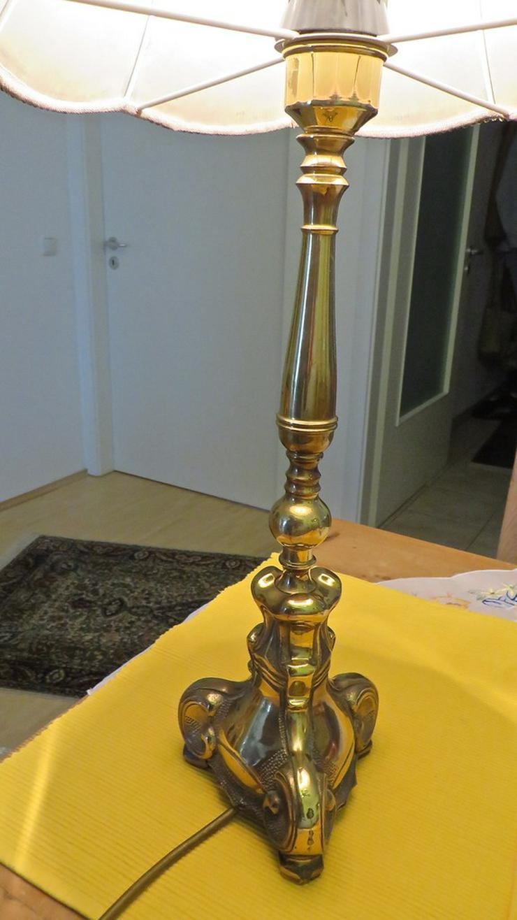 Bild 5: Messing Stehlampe