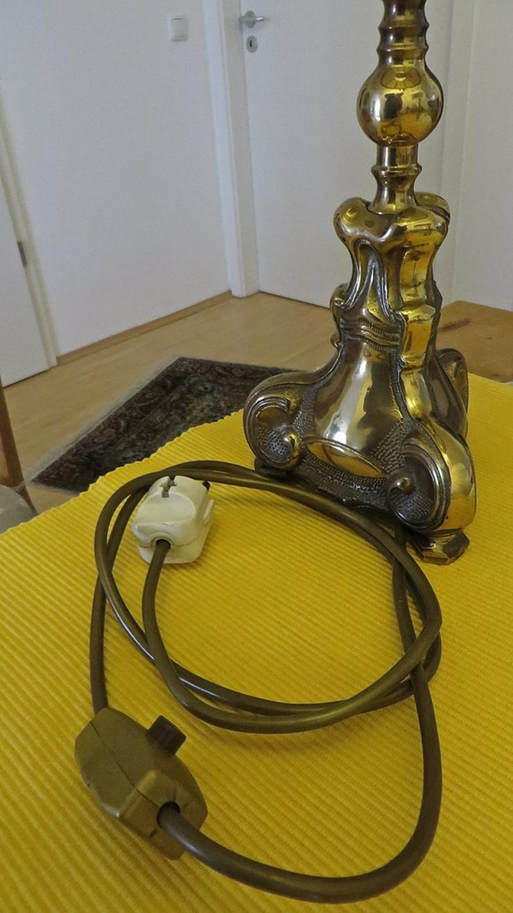 Bild 6: Messing Stehlampe