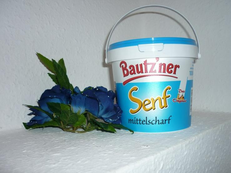 Bild 5: Bautzner mittelscharfer Senf  300 ml Quetschfl.