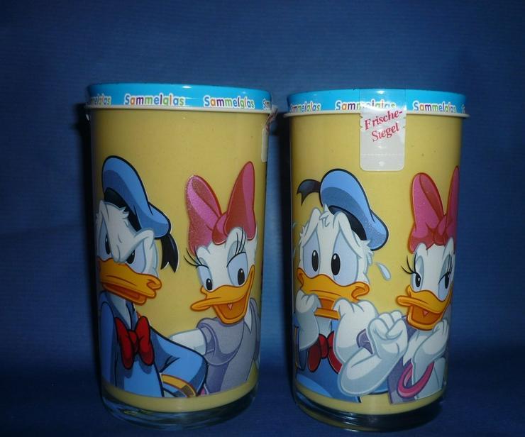 Bautzner Senf Sammelglas Daisy + Donald Duck