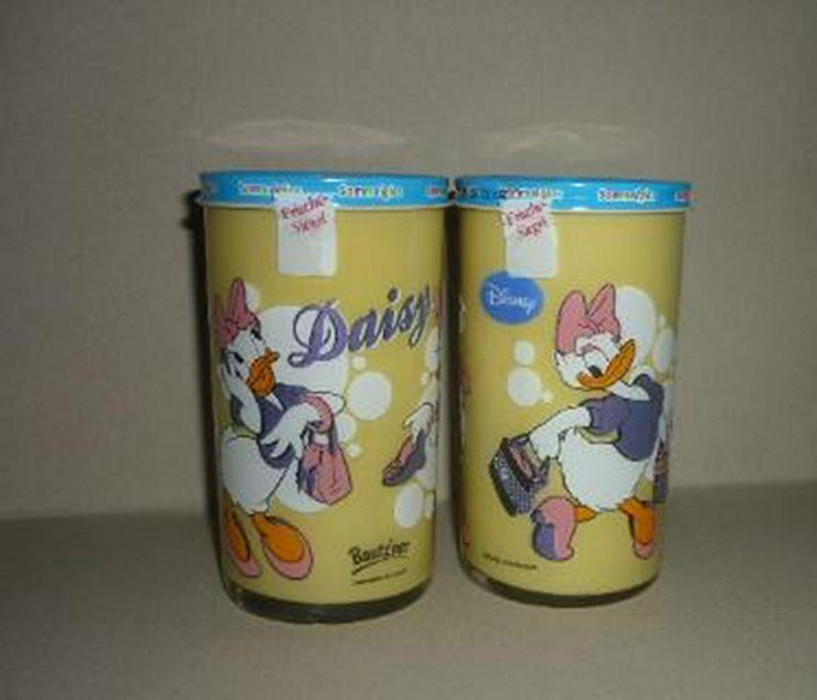Bild 5: Bautzner Senf Sammelglas Daisy + Donald Duck