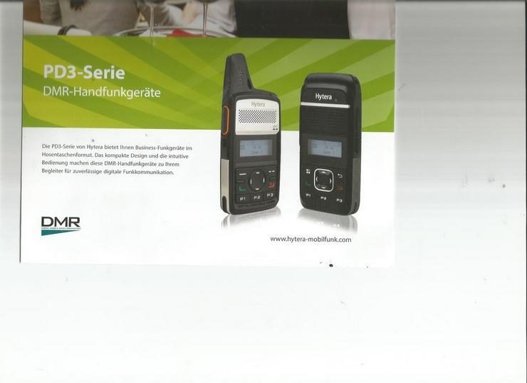 Hytera Digitales Funkgerät im Handy Look,