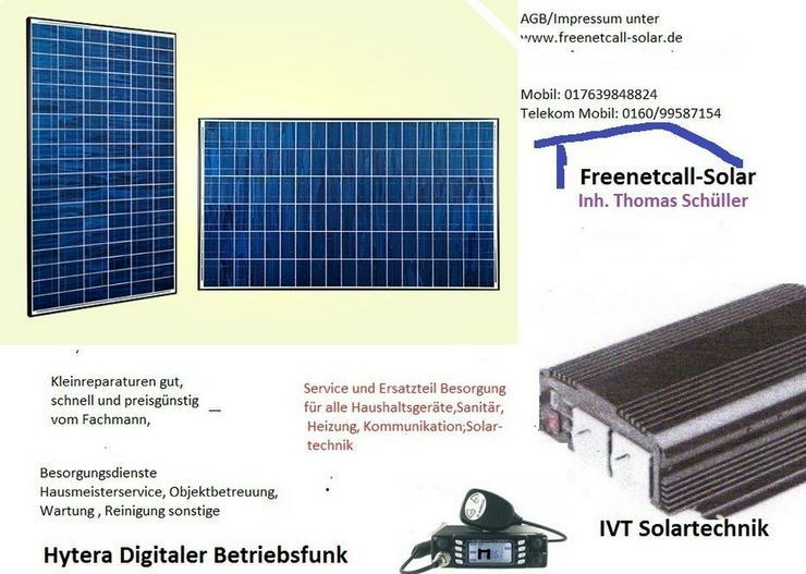 Reparatur  Heizung, Sanitär, Solar,Hytera Funk