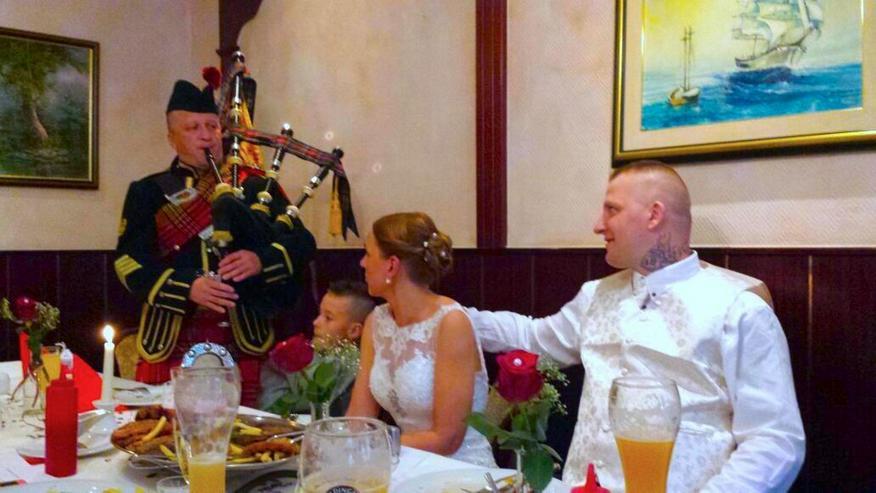 Bild 1: Dudelsackspieler für Hochzeit und Geburtstag