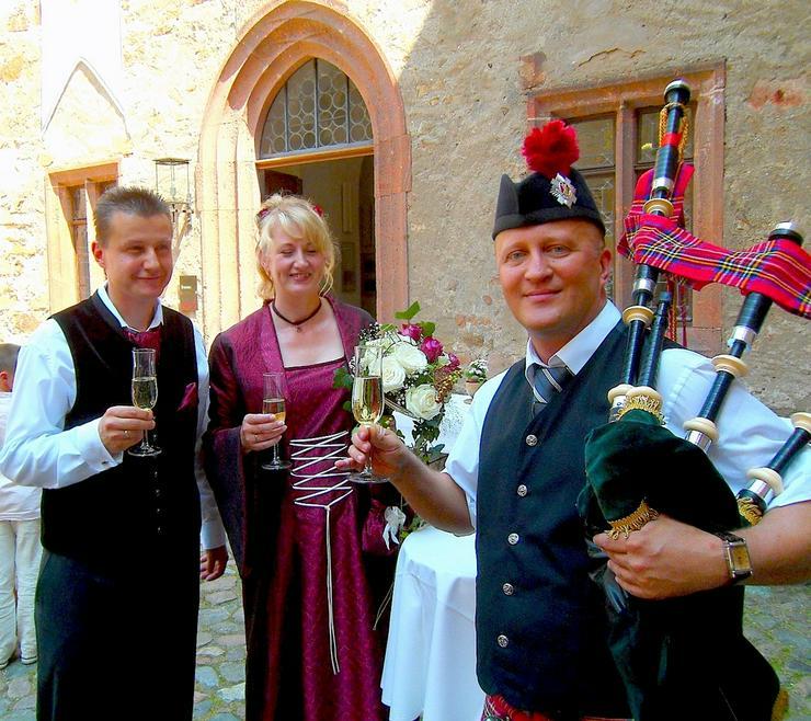 Bild 16: Dudelsackspieler für Hochzeit und Geburtstag