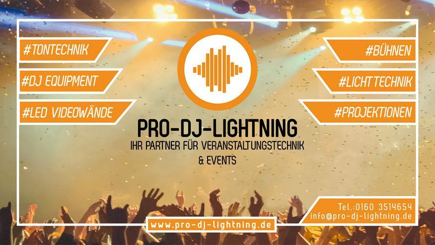 Licht/Ton/Bühnen/DJ Technik mieten - Party, Events & Messen - Bild 1