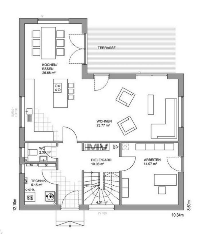 Bild 2: Modernes Einfamilienhaus in ruhiger Lage in Siegen