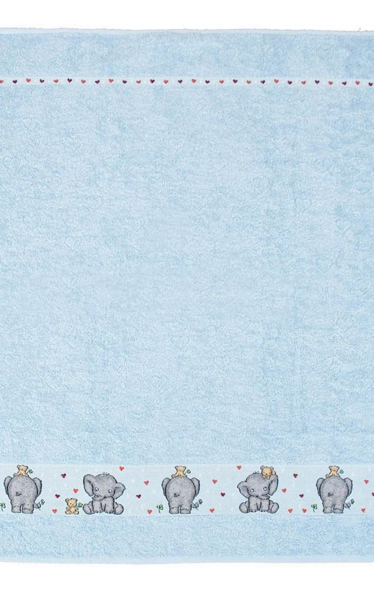 Dyckhoff Kinderhandtuch Elefant blau