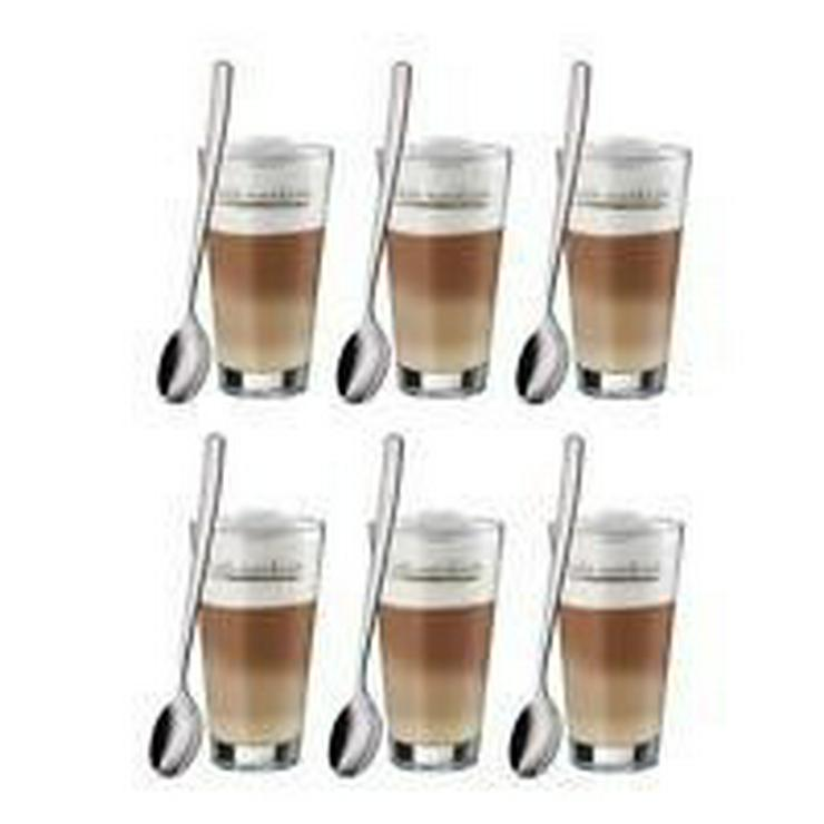 WMF Latte Macchiato Gläser mit Löffel 6-teilig