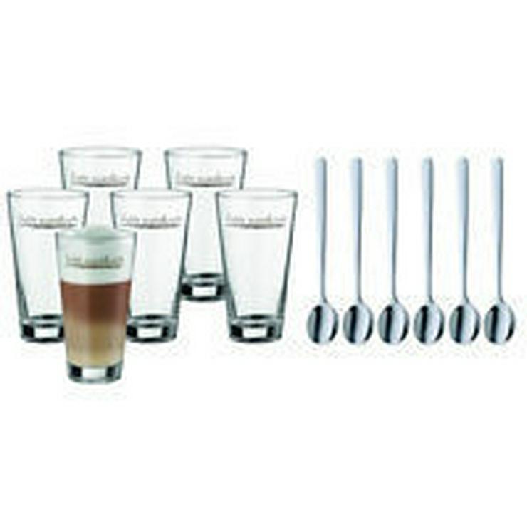 Bild 2: WMF Latte Macchiato Gläser mit Löffel 6-teilig