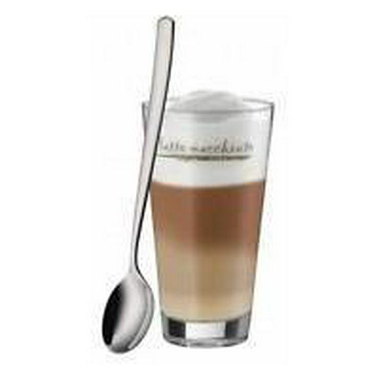 Bild 3: WMF Latte Macchiato Gläser mit Löffel 6-teilig