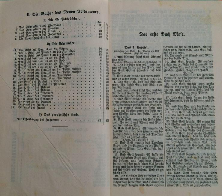 Bild 4: Bibel Heilige Schrift Alten u.Neuen Testament