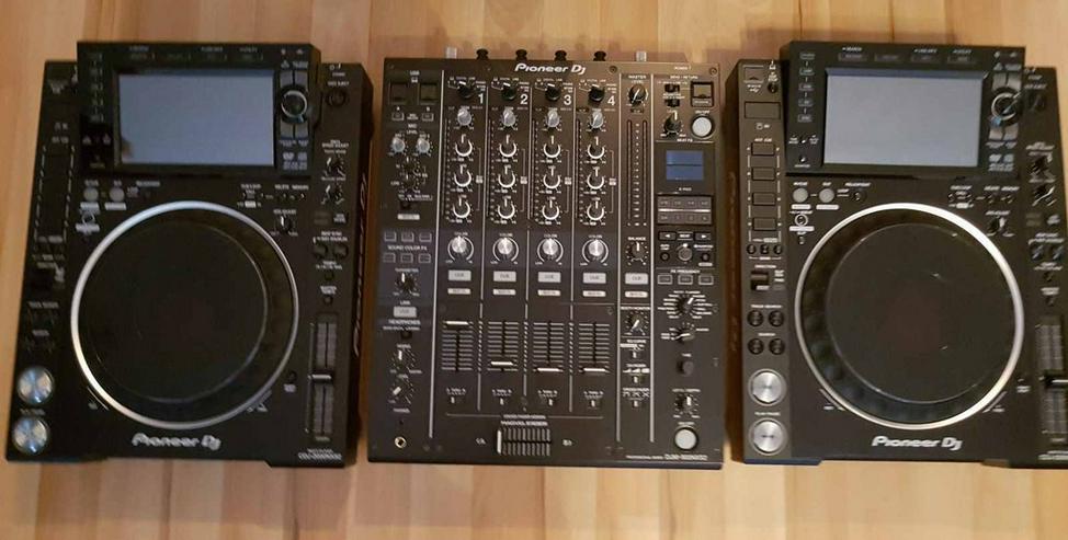 Pioneer 2x Cdj 2000 NXS2 und 1x DJM- 900 NXS2