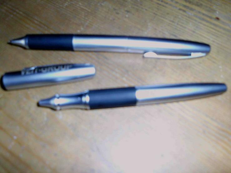 Schreibset silber-schwarz