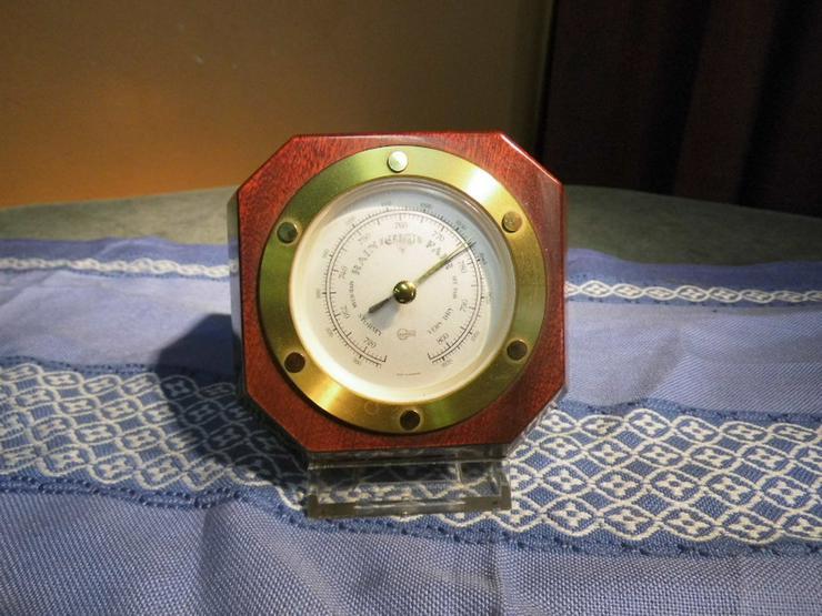 Barometer aus Mahagoniholz Barigo um 1975 / Zi