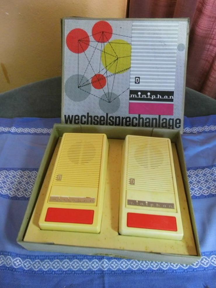 Wechselsprechanlage minifon aus der ehemaligen