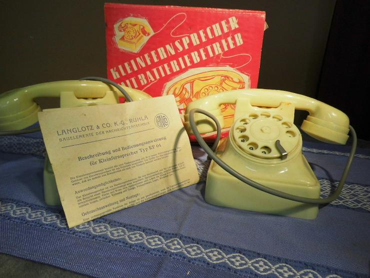 Kleinfernsprechanlage Typ KF 04 / Haustelefon