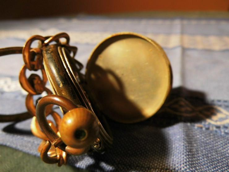 Bild 4: Taschenuhr Remontoir Silber vergoldet um 1890