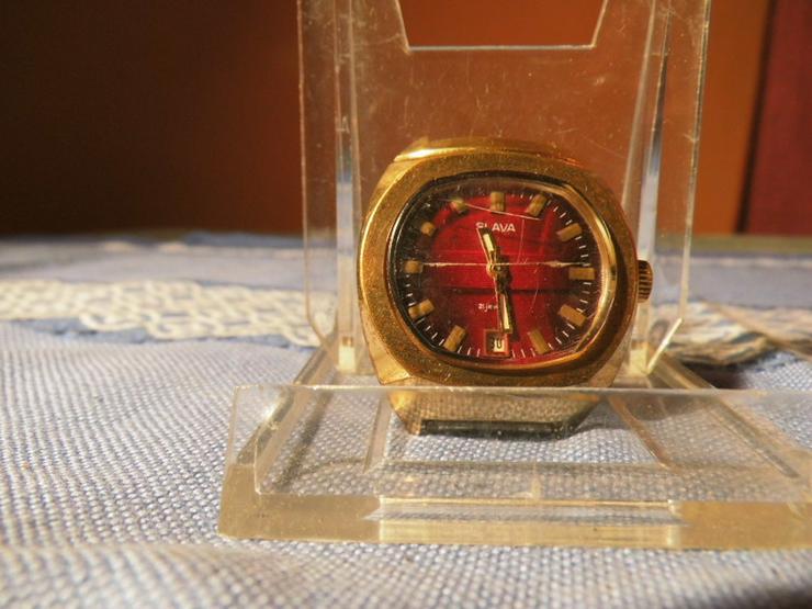 Herrenarmbanduhr Marke Slava / mechanische Uhr