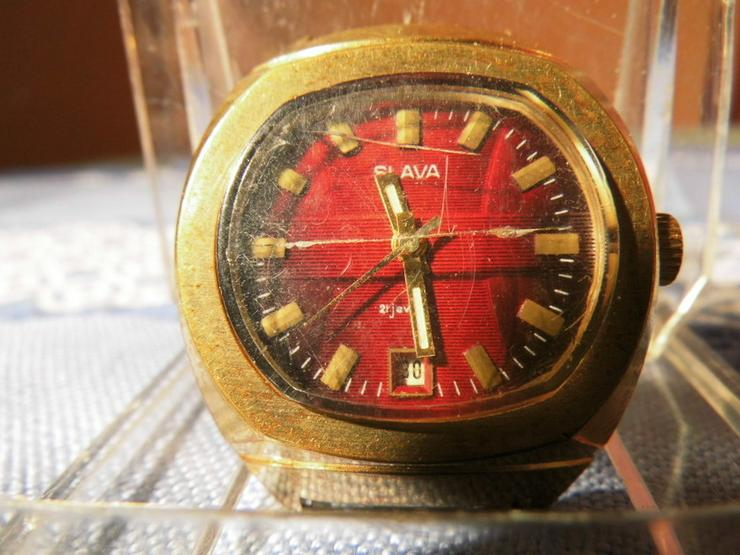 Bild 2: Herrenarmbanduhr Marke Slava / mechanische Uhr