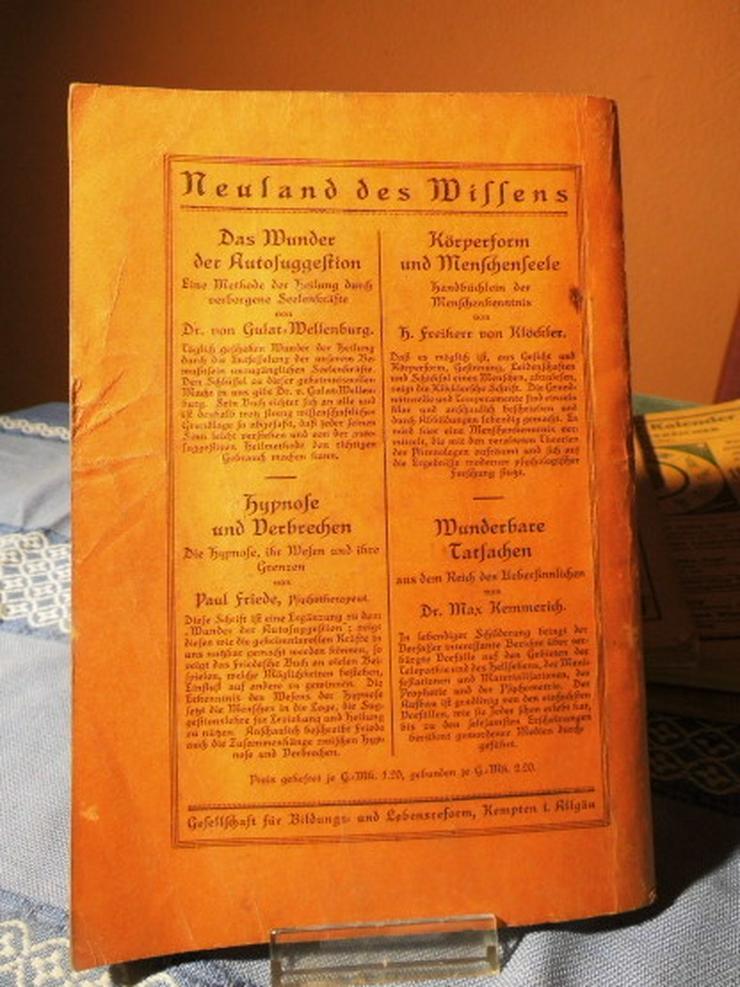 Bild 6: 4 antike astrologische Bücher / Weltrhytmuskal